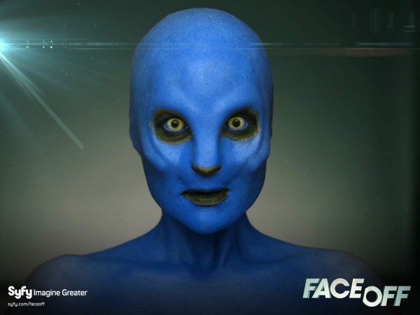 syfy face off monster makeover alien