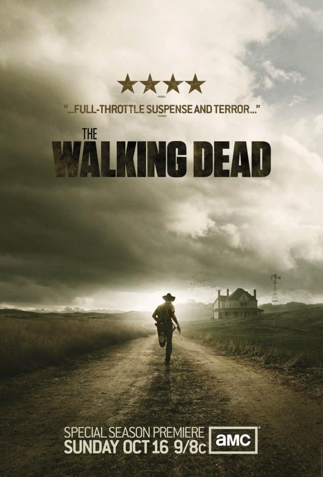 walking dead season 2 poster