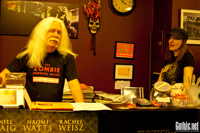 Del Howison at Dark Delicacies