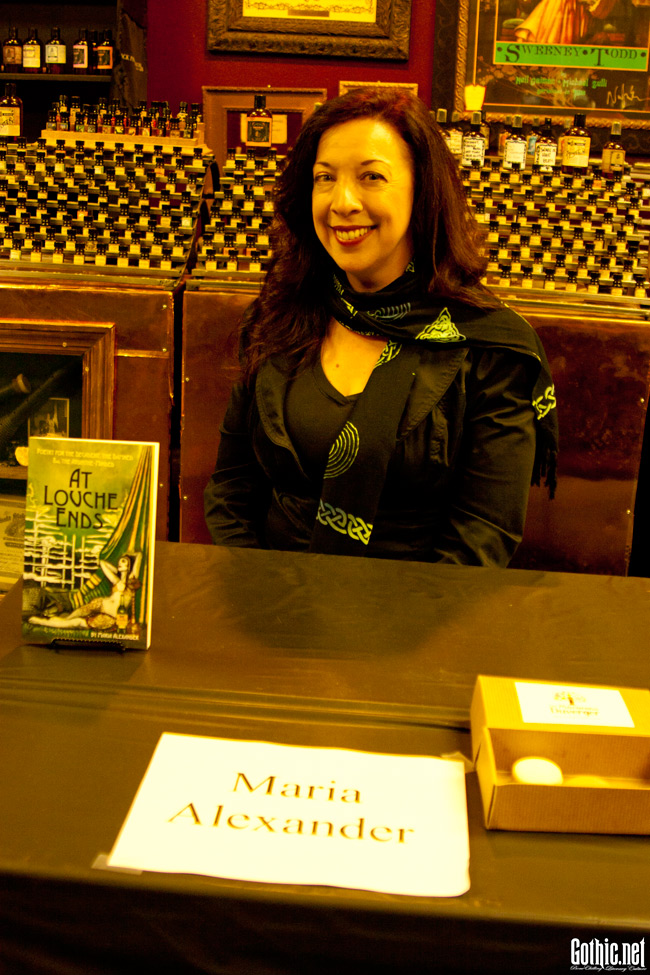 Maria Alexander at Dark Delicacies
