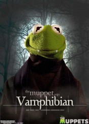 Twilight Muppet Kermit Vamphibian