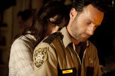 Lori and Rick Grimes
