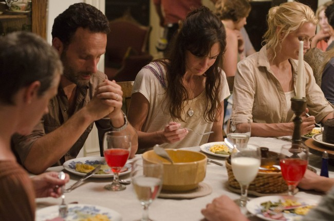 The Walking Dead Carol, Andrea, Rick and Lori Grimes