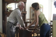The Walking Dead Hershel and Maggie Greene