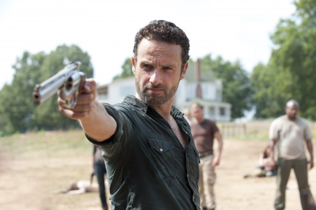 Rick Grimes with Gun