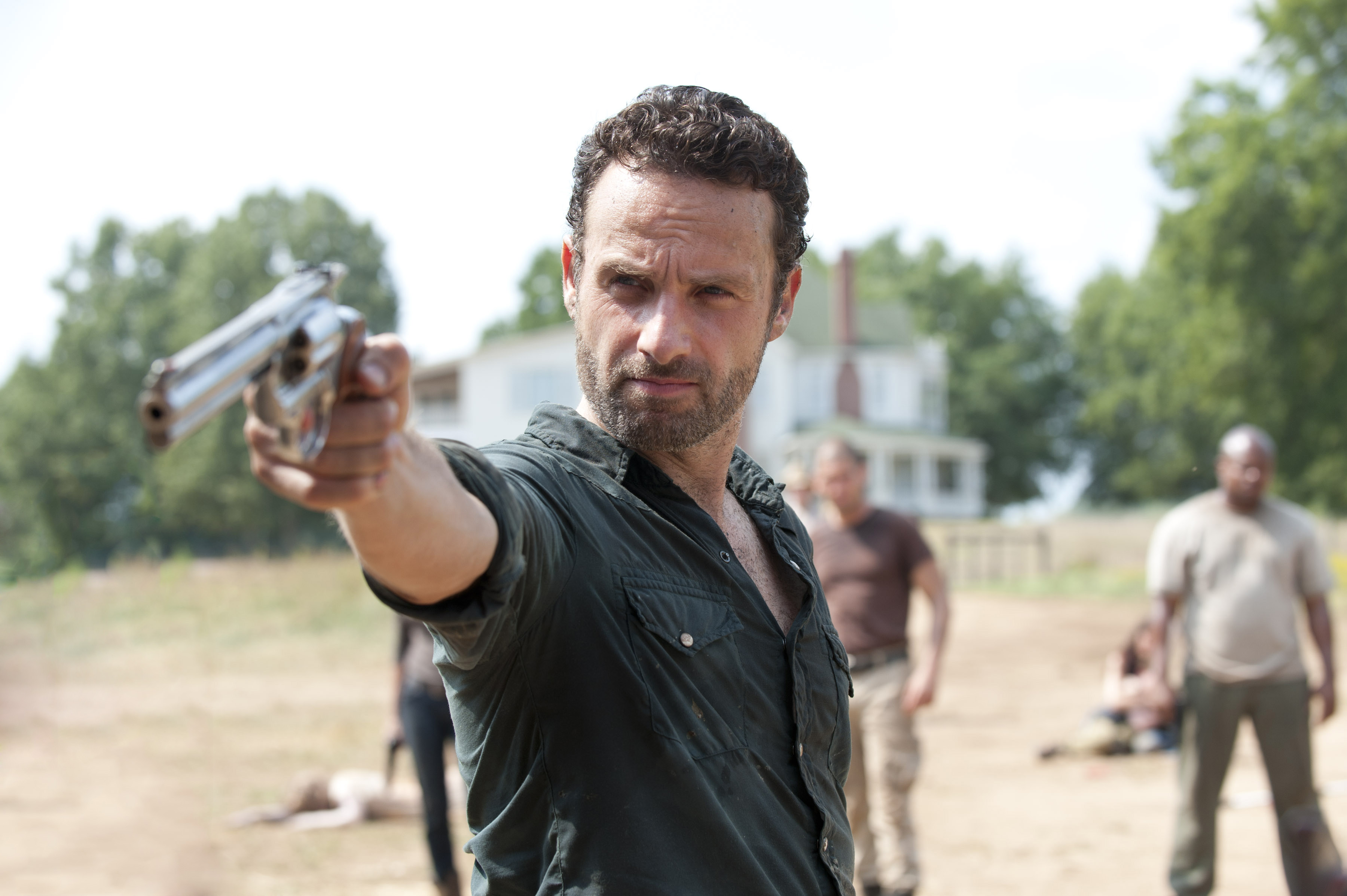 Rick Grimes (Andrew Lincoln) – The Walking Dead – Season 2 ...