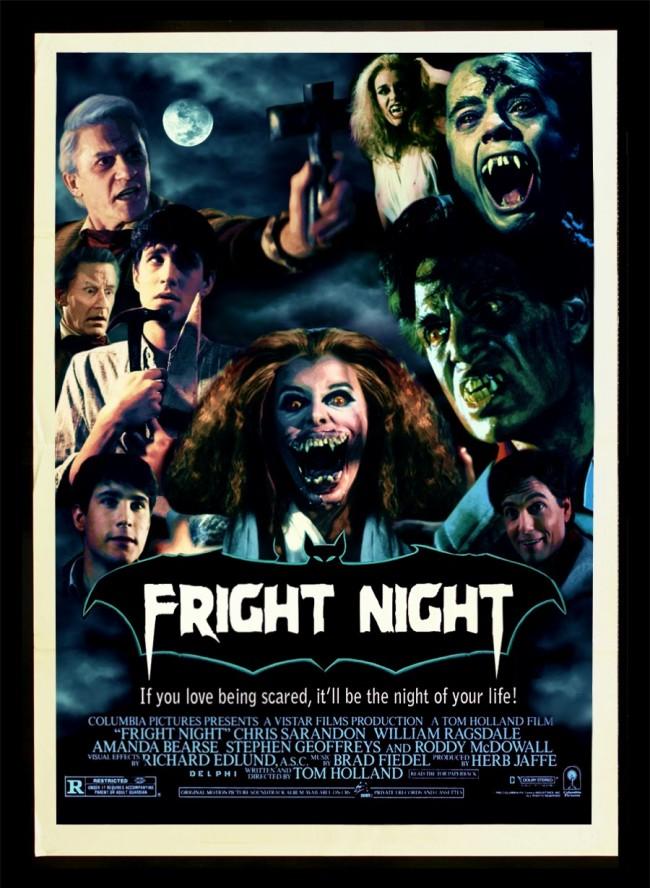 Fright Night 1985 Box Cover