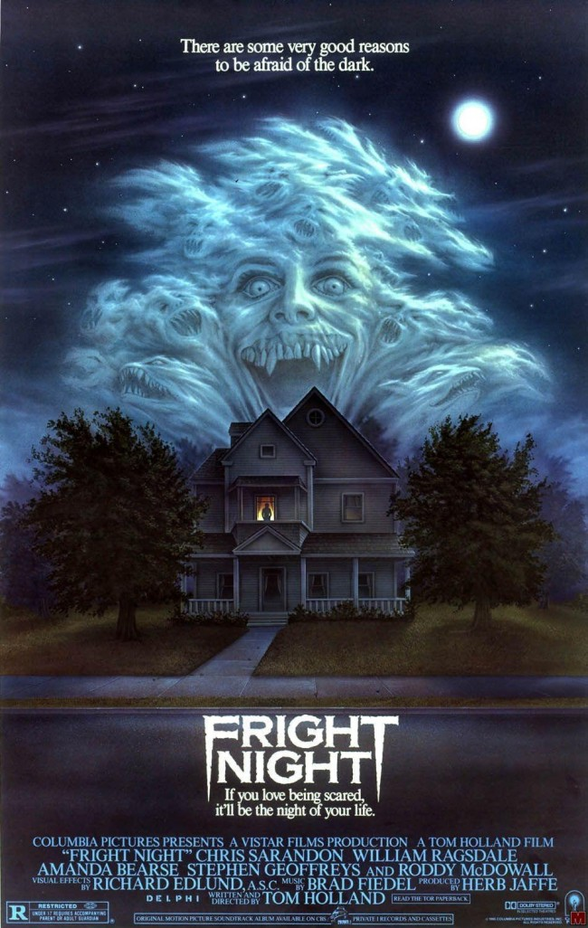 Fright Night 1985 Box Cover