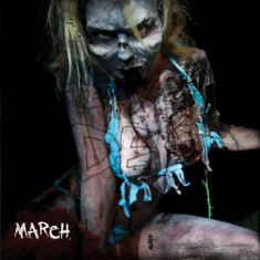 year of the dead zombie pin-up calendar
