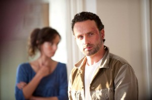The Walking Dead Lori and Rick Grimes Episode 211