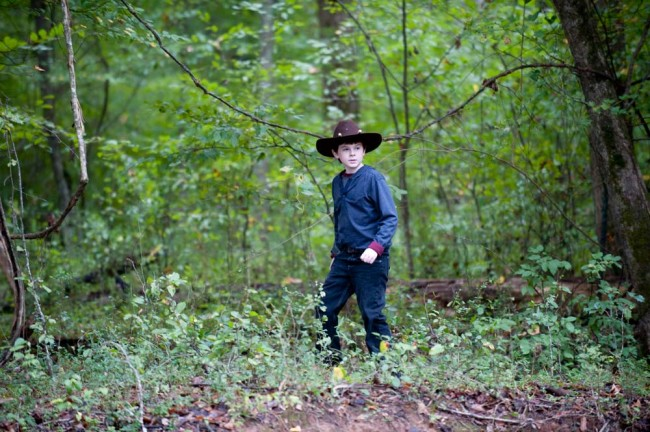 The Walking Dead Carl Grimes Episode 211