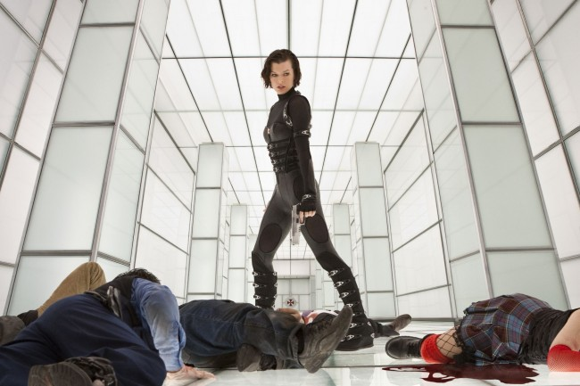 Resident Evil Retribution Movie Milla Jovovich Sexy
