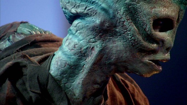 Rayce Dinosaur Makeup Closeup