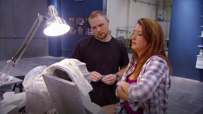 Rayce and Miranda Sculpting Time