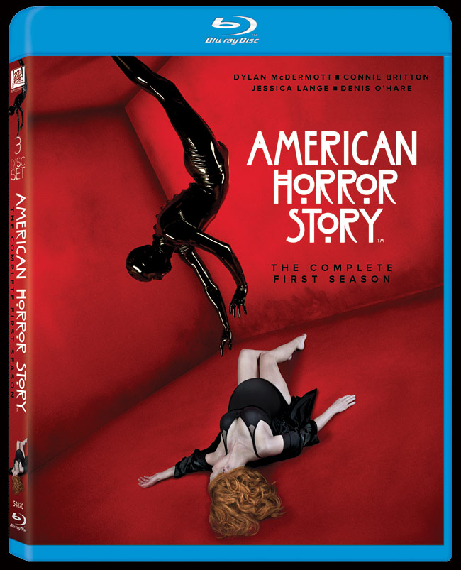 american horror story season 1 blu-ray