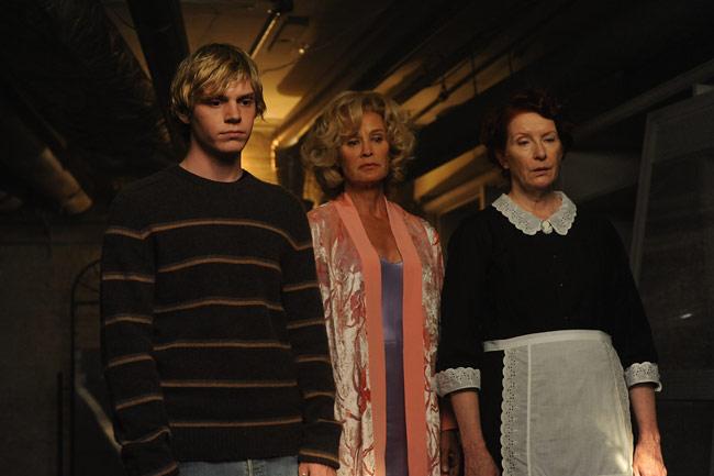 american horror story season 1 Evan Jessica Evan Frances