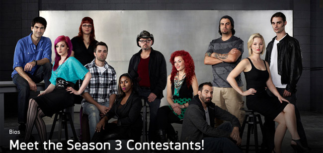 face off season 3 contestants