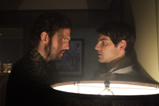 Monroe and Nick Burkhardt on Grimm