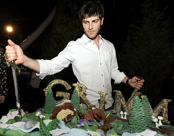 David Giuntoli Grimm Season 2 Cake