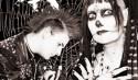 california deathrock kickstarter goth punk spiderweb shirt