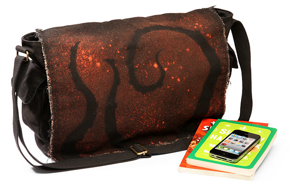 tentacle messenger bag