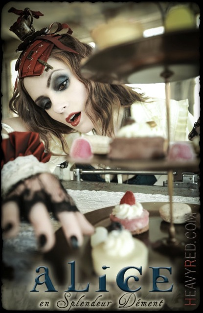 Heavy Red Alice in Wonderland Dement