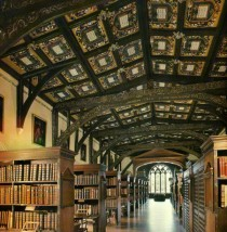 duke humphreys bodlein library oxford england