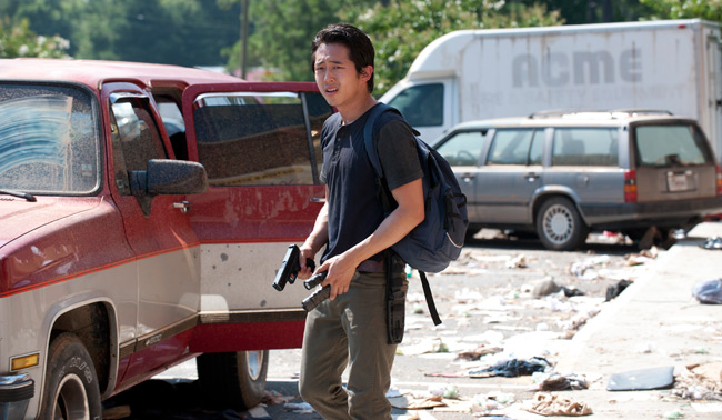 Glenn (Steven Yeun) - The Walking Dead - Season 3, Episode 6 - Photo Credit: Gene Page/AMC
