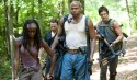 Michonne (Danai Gurira), Rick Grimes (Andrew Lincoln), Oscar (Vincent Ward) and Daryl Dixon (Norman Reedus) - The Walking Dead - Season 3, Episode 7 - Photo Credit: Gene Page/AMC