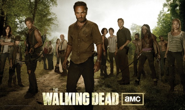 walking dead season 3 cast photo