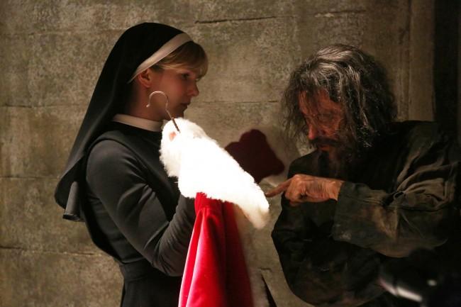 ahs american horror story xmas christmas homicidal santa nun