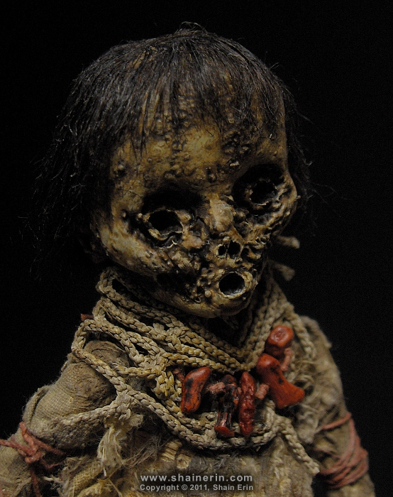 Mummy Art Doll Sculpture – M30