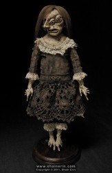 shain erin creepy dolls Sabelia Exquisite Monster Art Doll