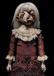shain erin creepy dolls Wanetta Exquisite Monster Art Doll