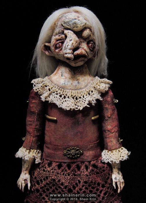 shain erin creepy dolls Wanetta Exquisite Monster Art Doll