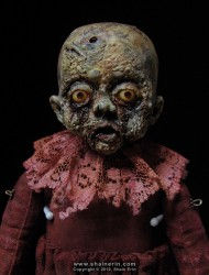 shain erin creepy dolls Griselda Zombie Art Doll