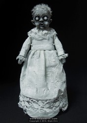 shain erin creepy dolls Bela Ghost Art Doll