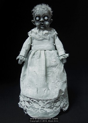 shain erin creepy dolls Bela Ghost Art Doll