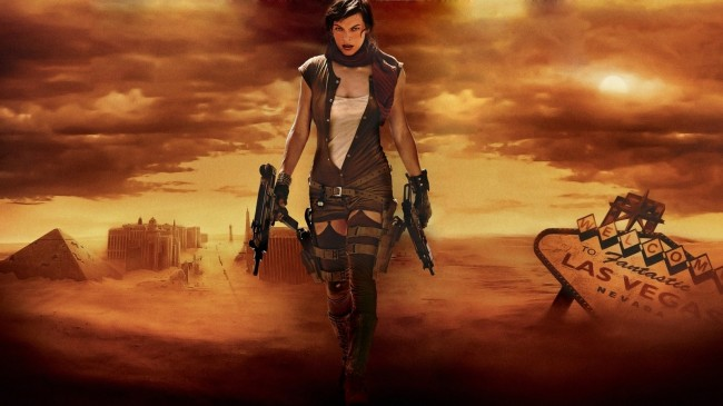 resident evil extinction welcome to fantastic las vegas mila jovovich