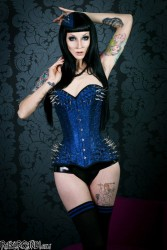Razor Candi Corset Fashion Spikes