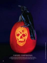 Martha Stewart Halloween Raven Template Pumpkin