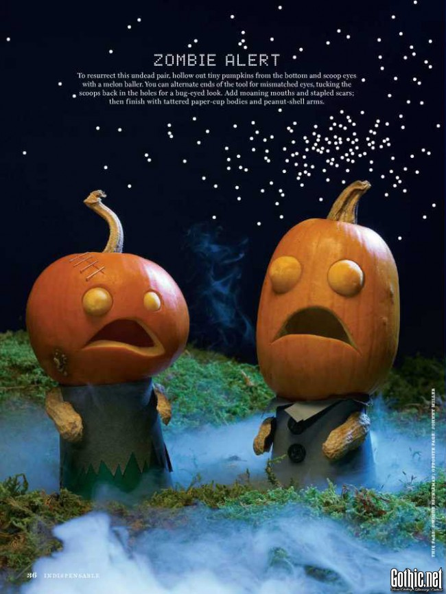 Martha Stewart Halloween Zombie Alert