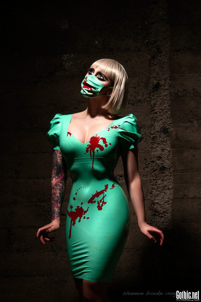 vital vein fashion bloody latex