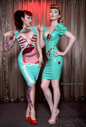 vital vein fashion bloody latex