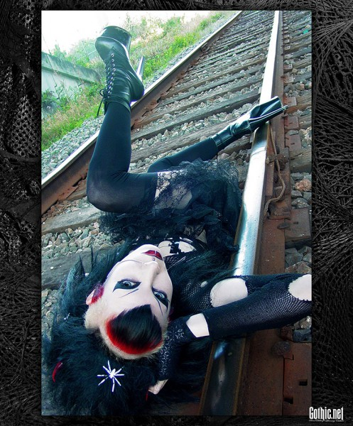 RazorCandi Train Tracks Deathrock
