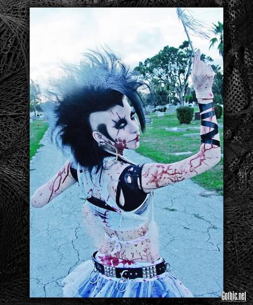 RazorCandi Bloody Zombie Graveyard Deathhawk