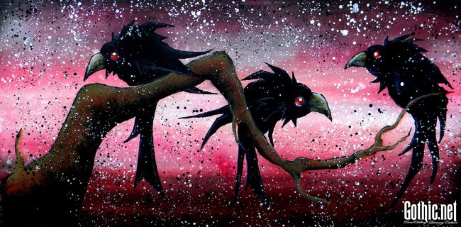 Blood in the Air Crows